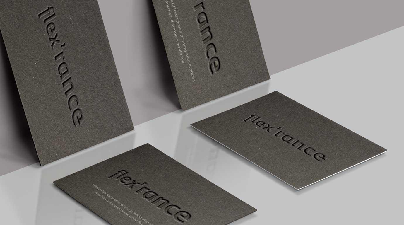 simplex grey paper letterpress foil emboss1